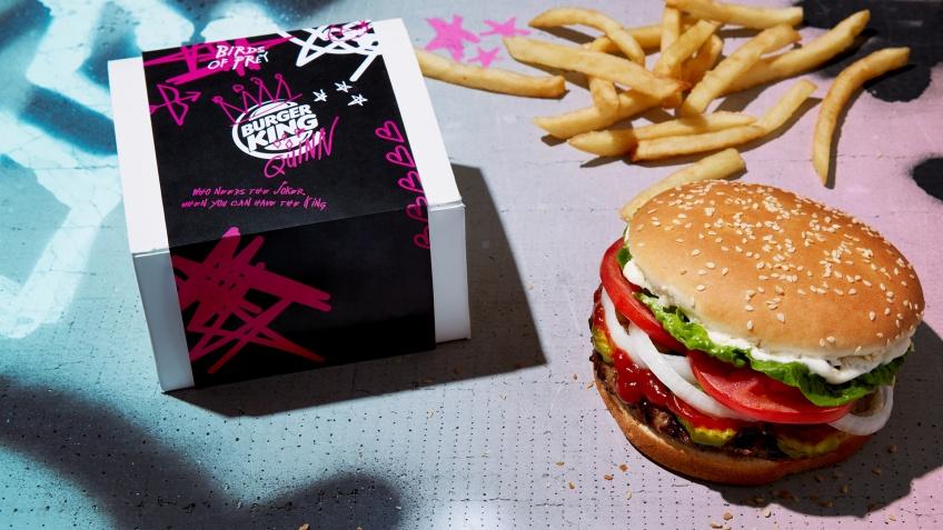 Saint Valentin burger gratuit Burger King