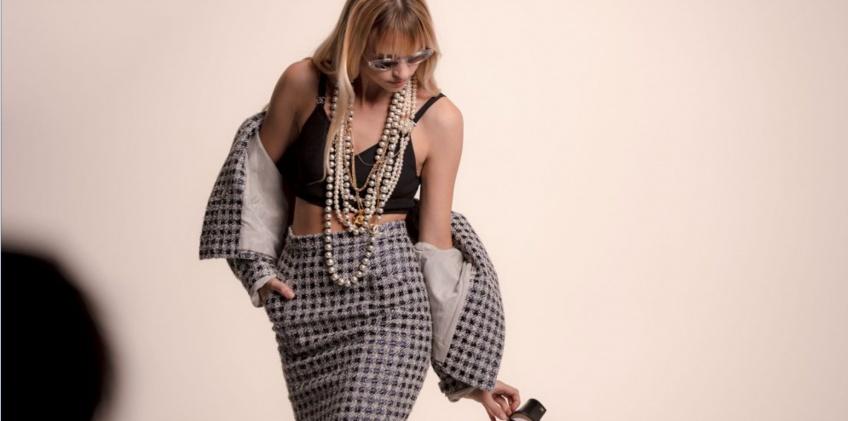 Angèle égérie Chanel