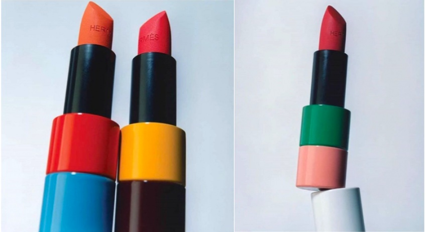 Hermès se lance dans la beauté avec une première ligne de maquillage !