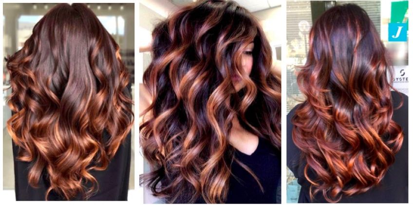 Chocolate Caramel Hair color : la tendance coloration à adopter vite !