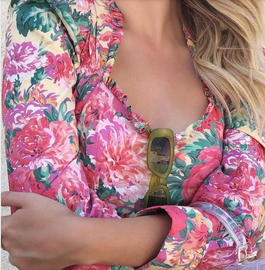 blouses fleuries printemps