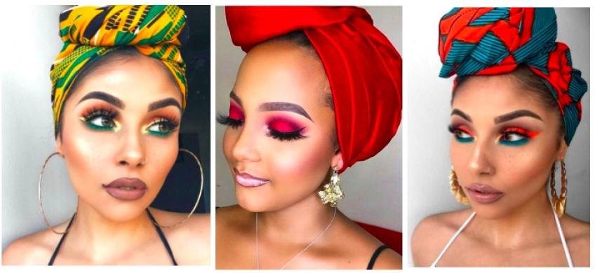 Comment associer son maquillage à son turban avec style ?