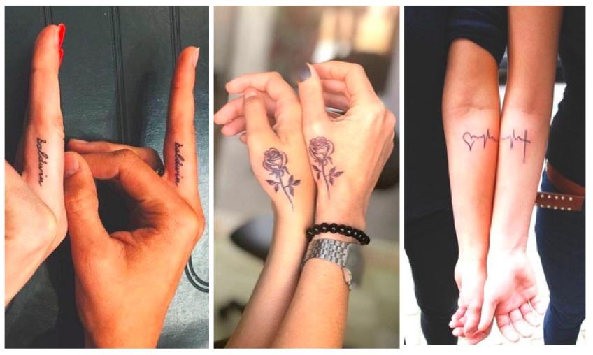 20 idées cool et originales de tatouages à faire entre BFF