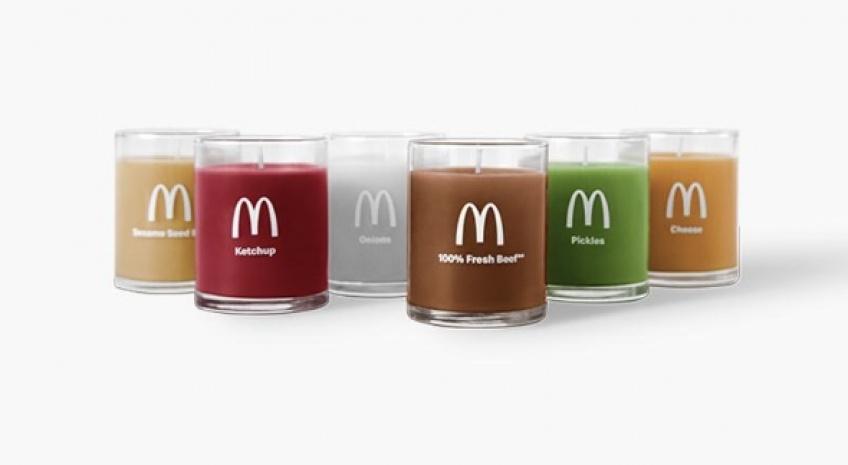 bougies McDonald's burger