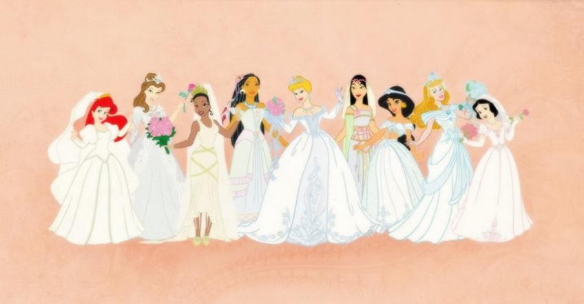 Une collection de robe de mariée inspirée de nos princesses Disney préférées arrive