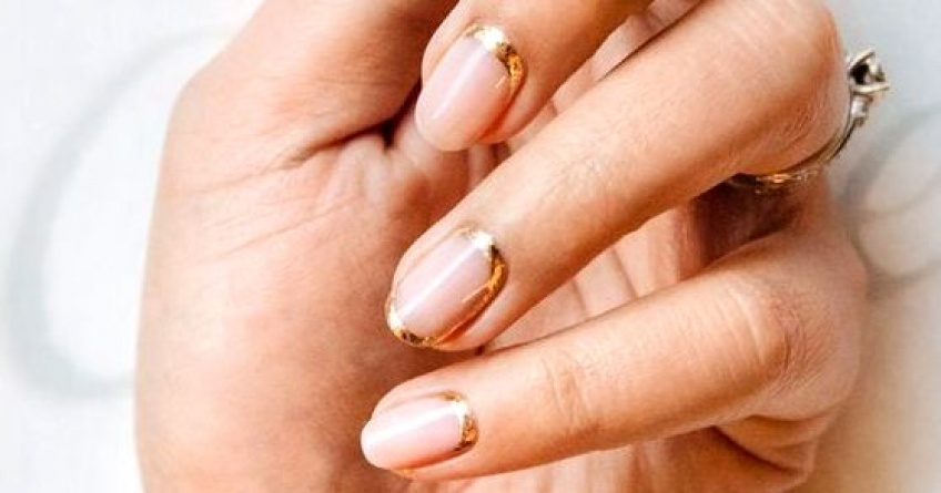 Des superbes idées de nail-arts dorés tendance et graphiques !