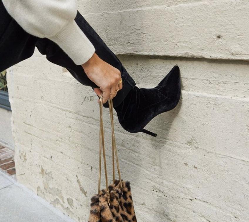 #Shoesday : Des bottines à talons pour élancer ses gambettes !