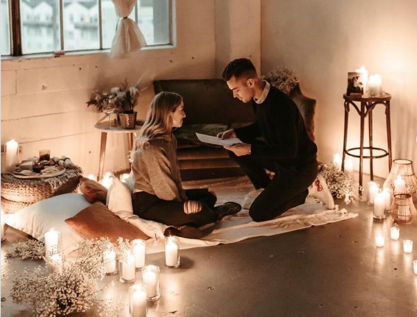 demandes en mariage romantiques Instagram