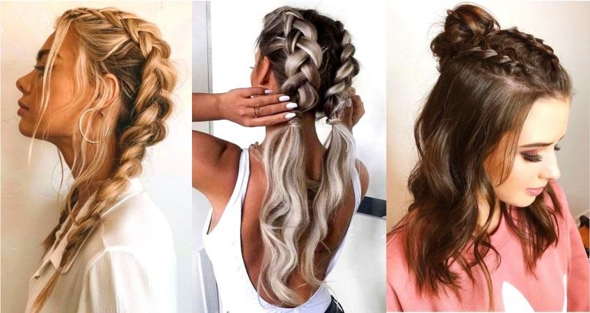 7 idées de coiffures tressées pour chaque jour de la semaine !