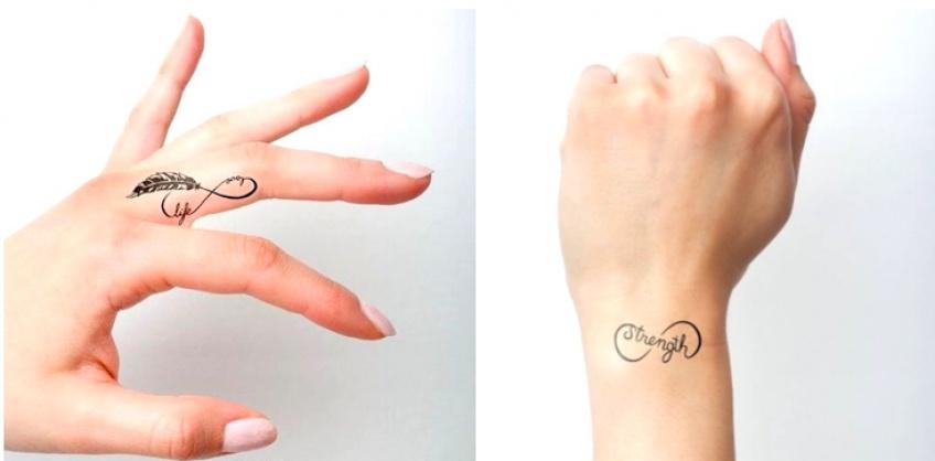 20 fabuleuses idées de tatouages infinis originaux !