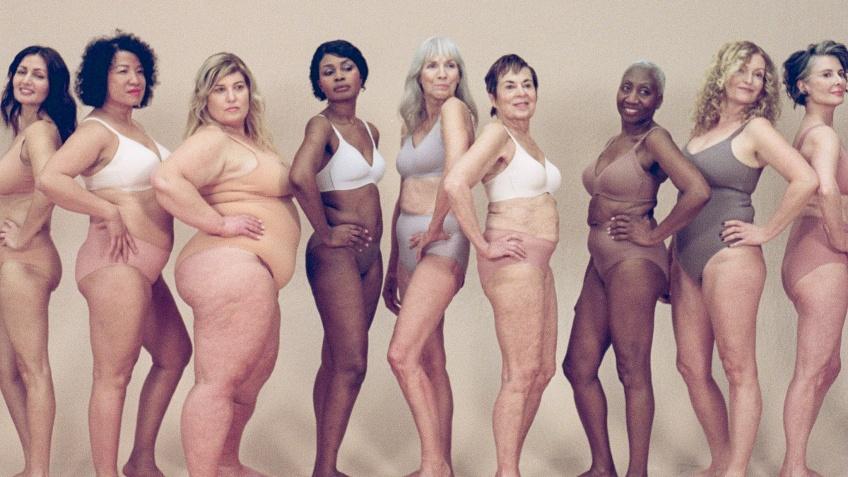Knix âgisme campagne lingerie