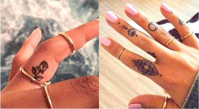 20 superbes inspirations de tatouage sur les doigts, la tendance qui fait un carton !
