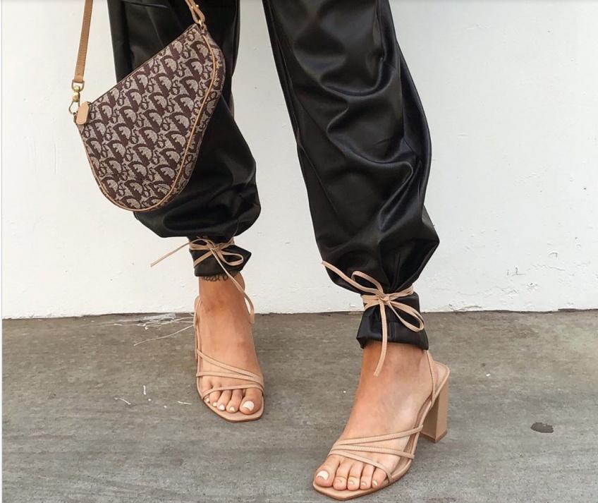sandales à talons printemps
