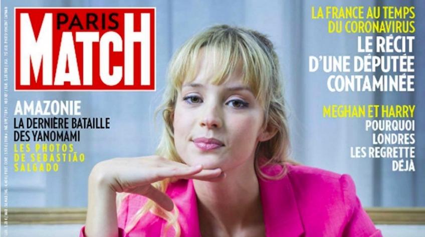 couverture sexiste Paris Match Angèle