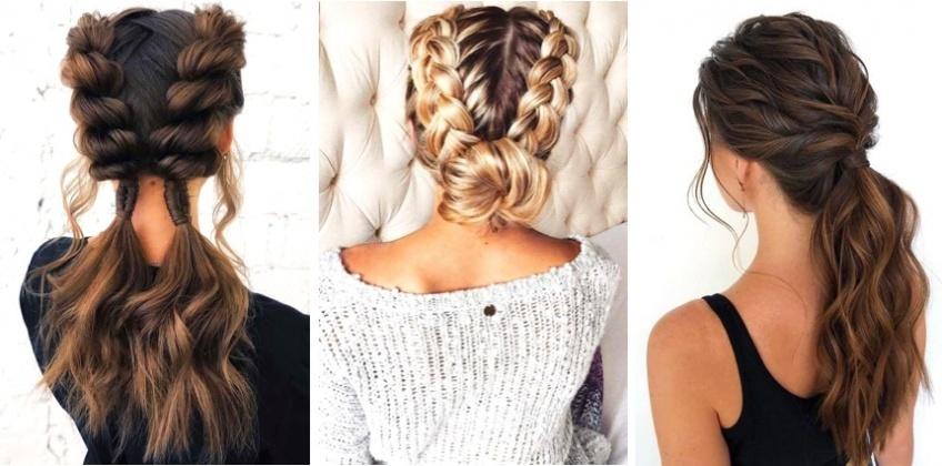 Les idées de coiffures à essayer en fonction du temps que vous avez devant vous !