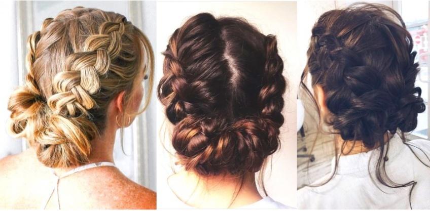 La coiffure qui fait le buzz sur Pinterest : le double bun braid !