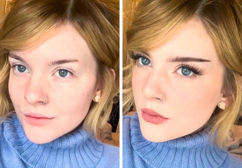 Ces avant/après prouvent qu'il ne faut pas être une artiste pour faire un beau make-up !