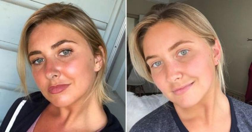Découvrez ce qu'elle a réalisé en ne se maquillant pas pendant le confinement !