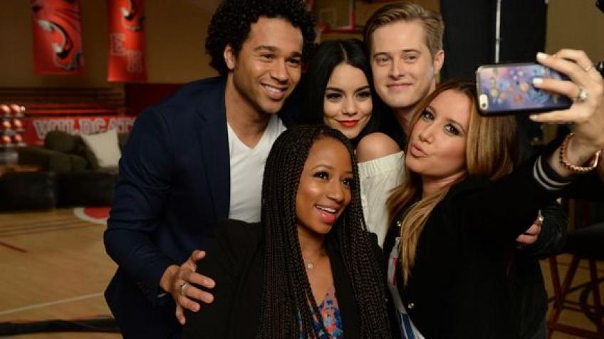 Le casting de High School Musical de nouveau réuni !