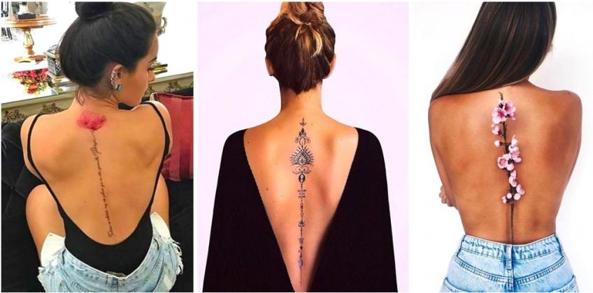 Les plus beaux tatouages pour sublimer et habiller sa colonne vertébrale !