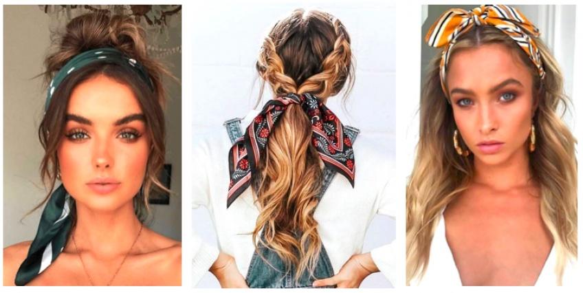 Les 10 plus belles coiffures à faire avec un foulard !