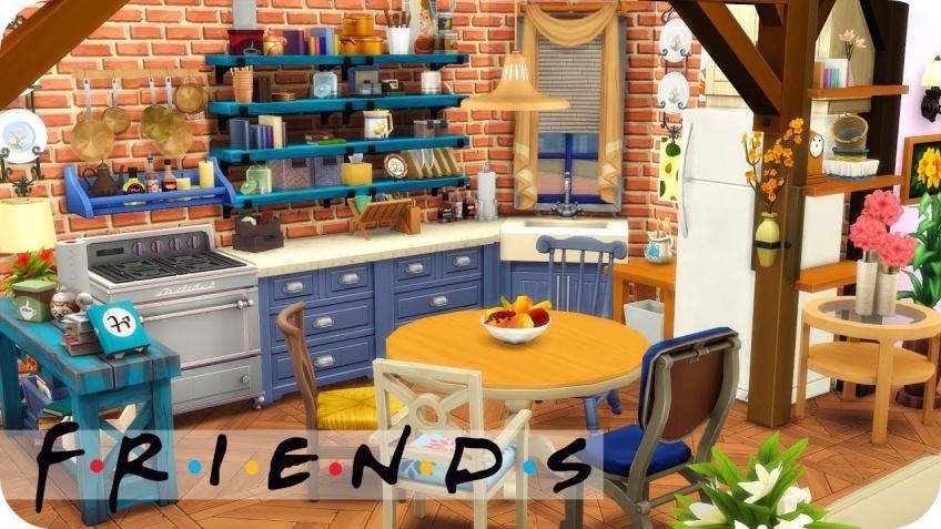 Cette youtubeuse récréer l'appartement de Friends sur les Sims