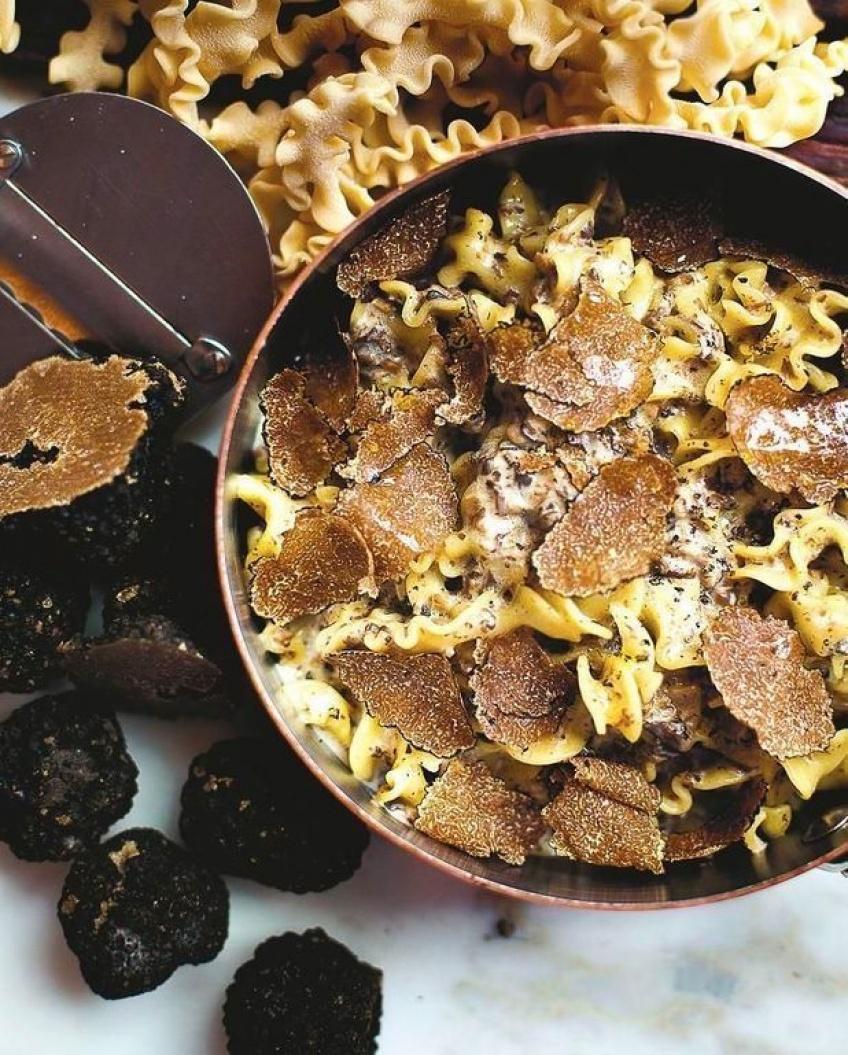 pâtes truffe