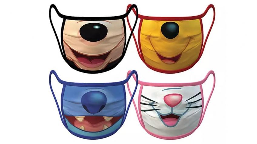 Retrouvez des masques Disney à l'effigie de vos héros préférés !