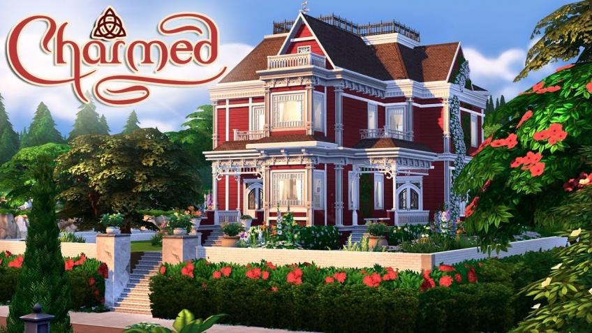Une Youtubeuse a recréé le manoir de Charmed dans les Sims !