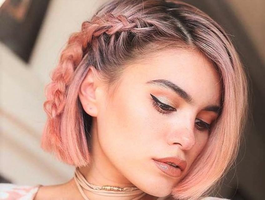Quelles coiffures tressées lorsqu'on a les cheveux courts ?