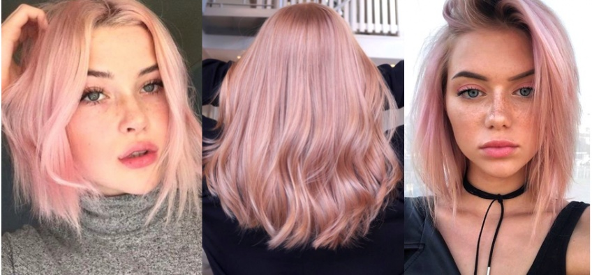 Light Pink Hair : la coloration qui enchante les coupes courtes !