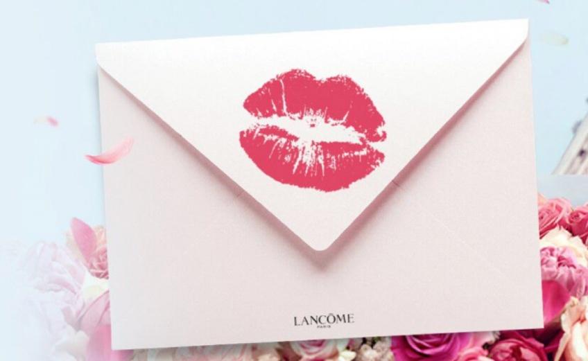 Kiss & Love : l'initiative Lancôme pour envoyer un message d'amour à votre mère !