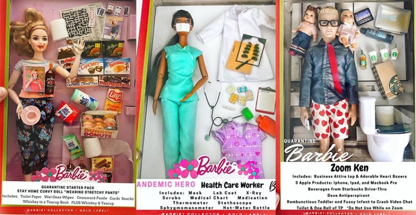 C'est officiel, la Barbie du confinement existe !