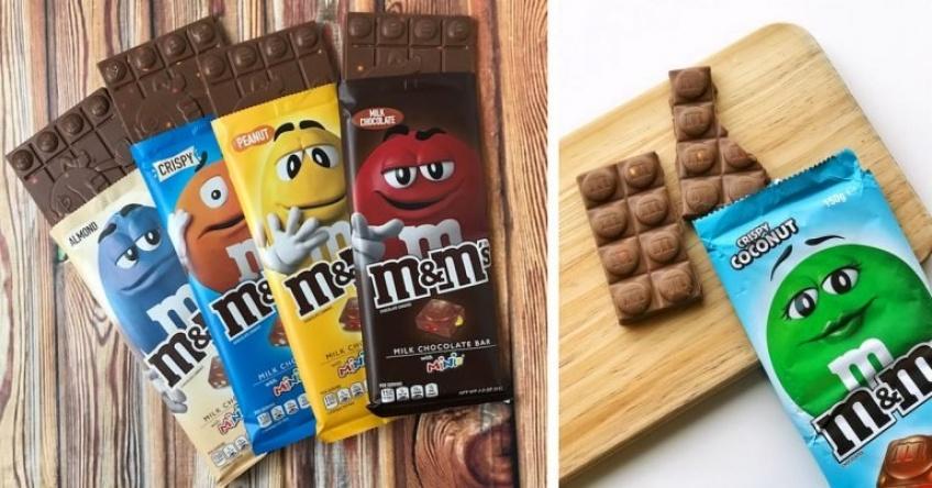 Les barres chocolatées M&M's arrivent bientôt en France !