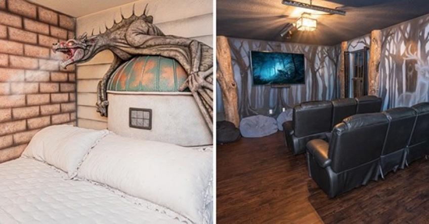 Un Airbnb inspiré du monde d'Harry Potter vous fait voyager à Poudlard