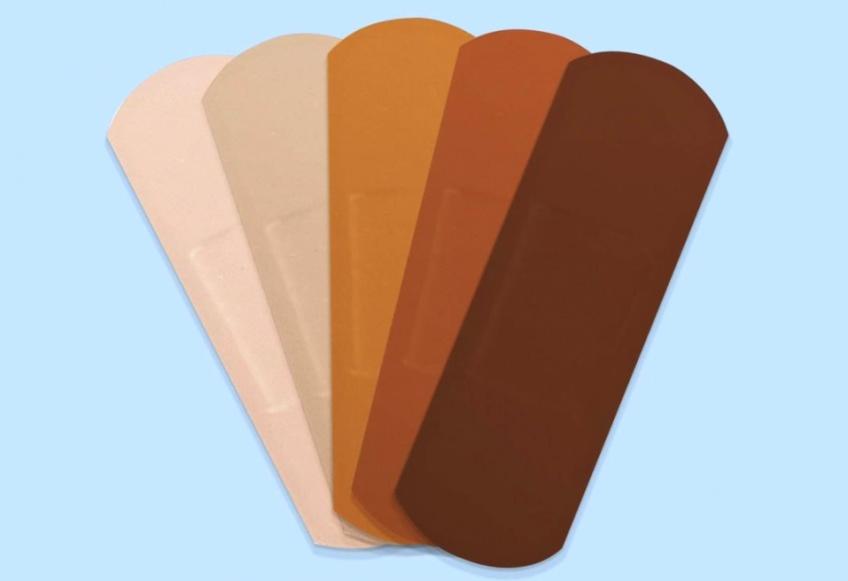 Il existe des pansements pour toutes les couleurs de peau !