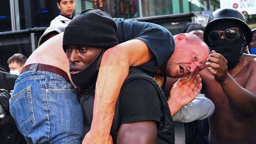 manifestant