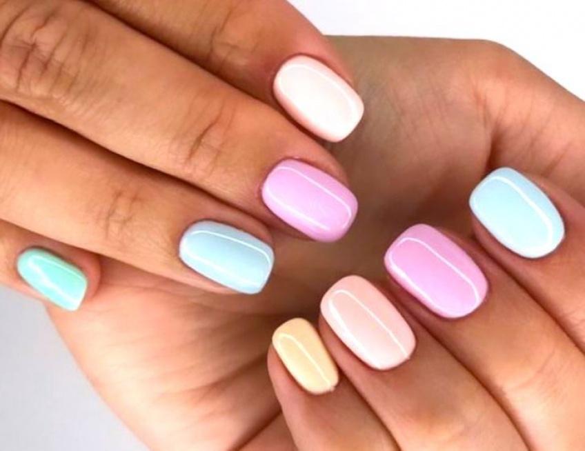 Gradient Nails : les combinaisons de nuances idéales pour l'été !