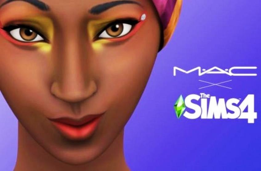 Il est désormais possible de maquiller vos Sims avec des produits MAC !