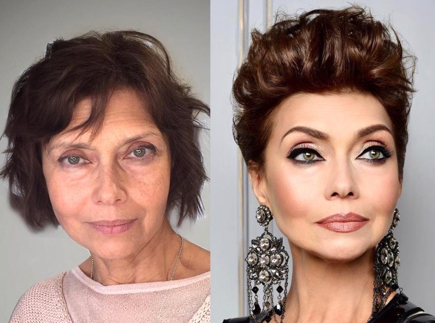20 photos avant après de femmes qui ont fait confiance à un make-up artist !