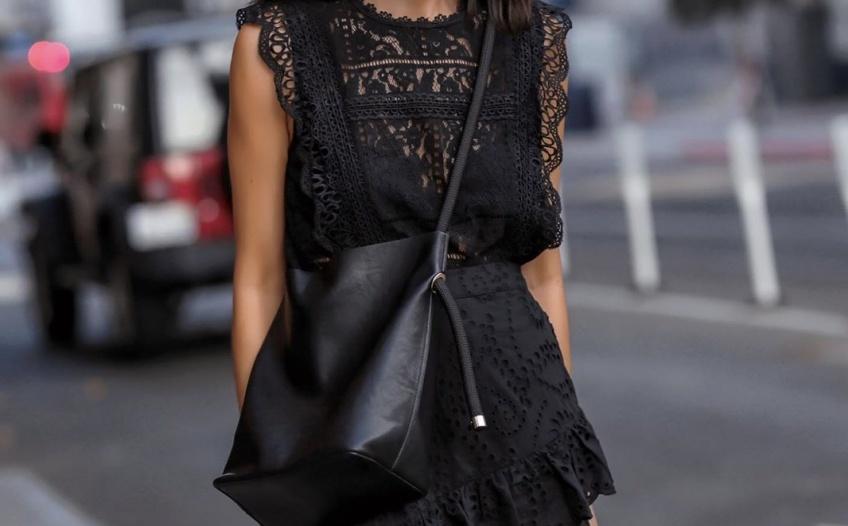 Ces robes noires que l'on va avoir envie de porter même cet été