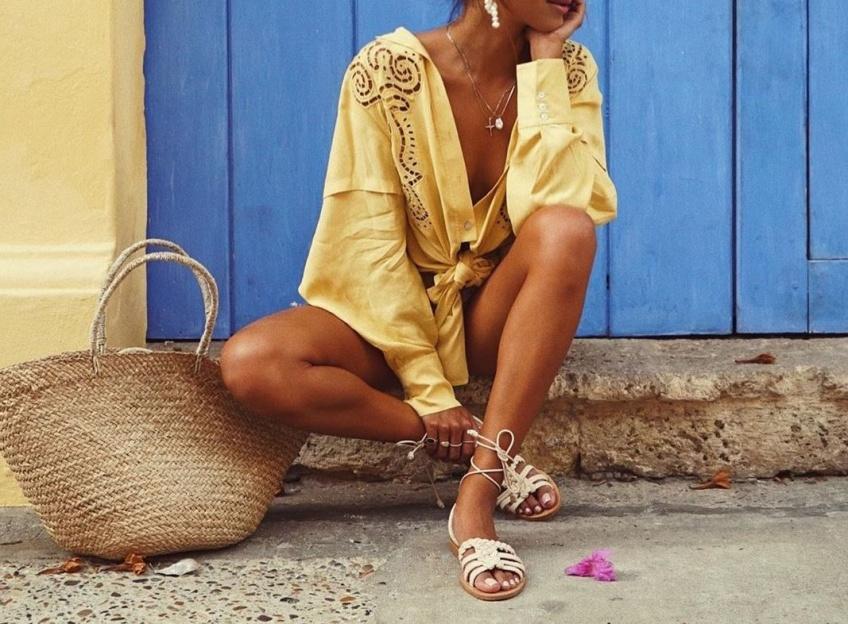 #Shoesday : Les sandales tressées, les it-shoes pour lézarder au soleil cet été