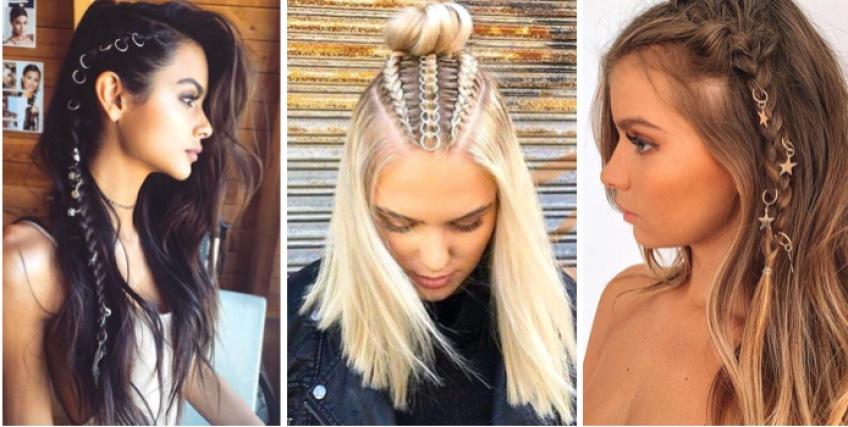 Hair rings : la tendance de l'été que l'on adore déjà !