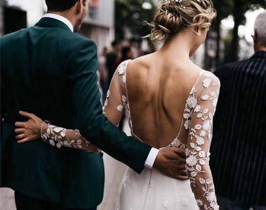 Les alternatives aux robes de mariées qui nous font totalement craquer