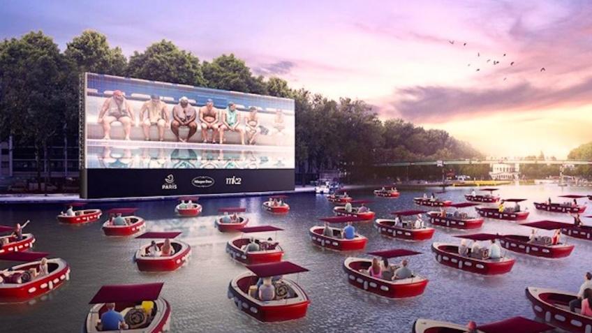 Un cinéma-bateau s'installe sur le bassin de la Villette et c'est complètement gratuit !