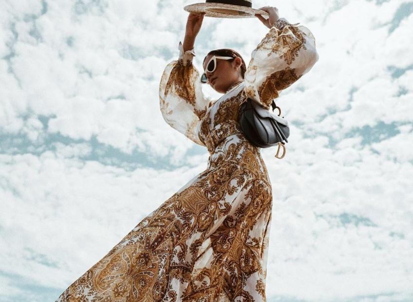 Les robes longues qui ne cessent de nous envoûter aussi bien pour l'été que pour la rentrée