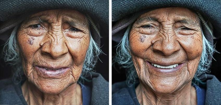Ce photographe a pris en photo la réaction de plusieurs femmes après leur avoir dit qu'elles étaient belles !