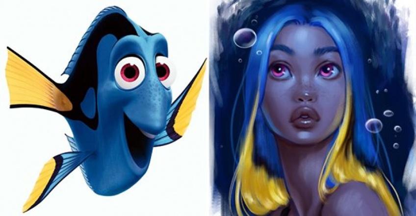 Cette artiste transforme les animaux Disney en personnages réels !