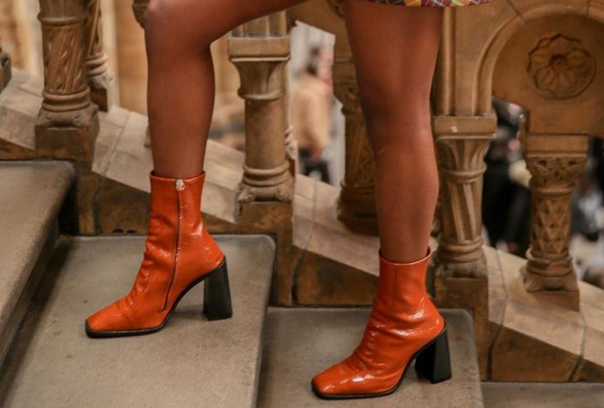 #Shoesday : Les bottines à bouts carrés font leur grand retour sur la fashion sphère
