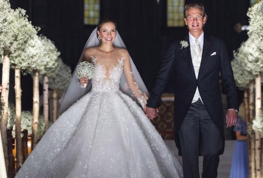 À quoi ressemble une robe de mariée à 1 million d'euros ?